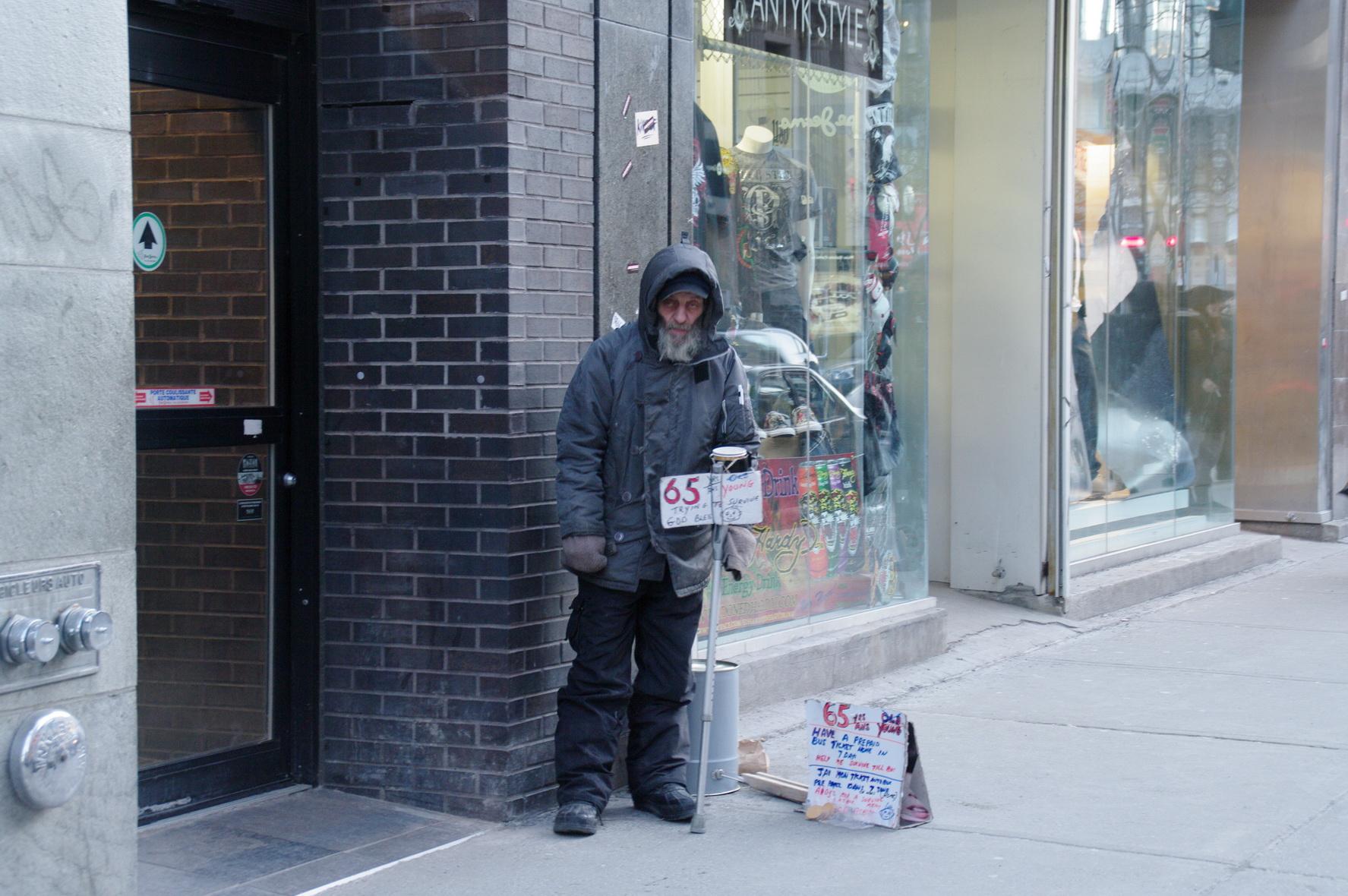 Rencontre homme pauvre