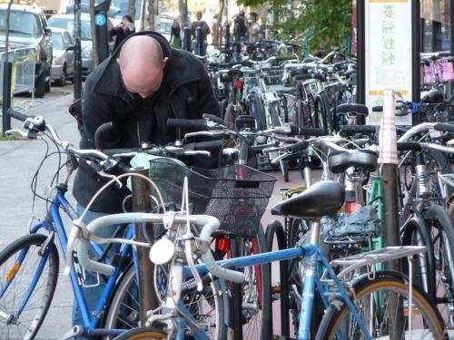 J'ai retrouvé mon vélo ...