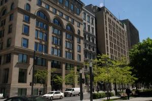 Le commerce mondial dans un patrimoine architectural