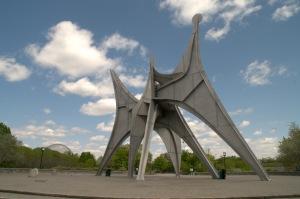 L'Homme devant la Biosphère de Buckminster Fuller