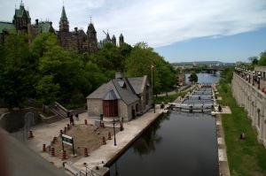 Le canal Rideau est classé patrimoine mondial de l'Unesco