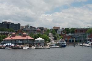 Terre en vue : le débarcadère de Burlington