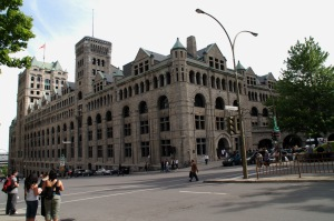 Un monument historique de Montréal