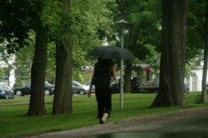 Pourquoi diantre préférer le parasol au parapluie?
