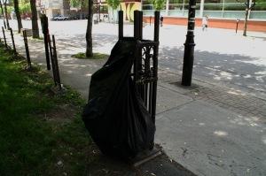 Nouvelle vocation à une clôture complètement démantelée