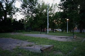 De jour ou de nuit, la tristesse plombe sur le parc Morgan