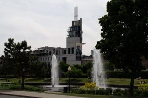 Le musée au centre d'un ensemble architectural patrimonial