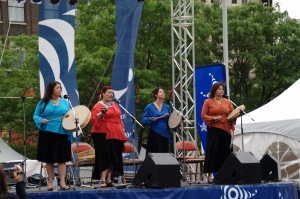 Les femmes autochtones ont chanté la terre, mère des Premières Nations