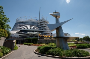Le pavillon de la France lors de l'Exposition universelle de 1967