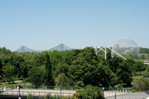 Une vue de Montréal qu'offre le Casino