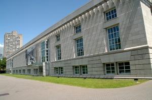 Vue arrière du Centre canadien d'Architecture