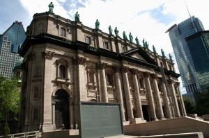 Le père Joseph Michaud, clerc de Saint-Viateur, architecte autodidacte, construisit en 1869 une imposante maquette de la future Cathédrale inspirée de la basilique Saint-Pierre de Rome