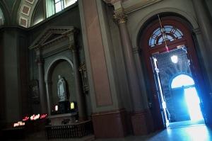Le transept droit de la cathédrale