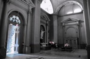 Le transept gauche de la cathédrale
