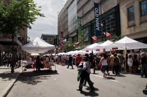 300 000 personnes étaient attendues au centre-ville de Montréal