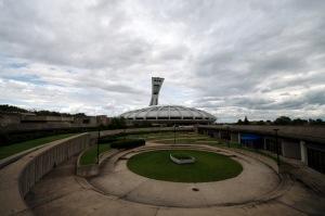 La construction du stade olympique s'est étalée sur plus de 12 ans