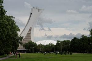 Le stade olympique est certainement l'édifice magistral le plus photographié de Montréal