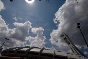 Longtemps la société montréalaise a débattu de la question d'un toit fixe ou rétractable pour son stade