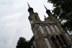 L'Église Saint-Vincent-de-Paul que se partageaient différemment le collège et la prison