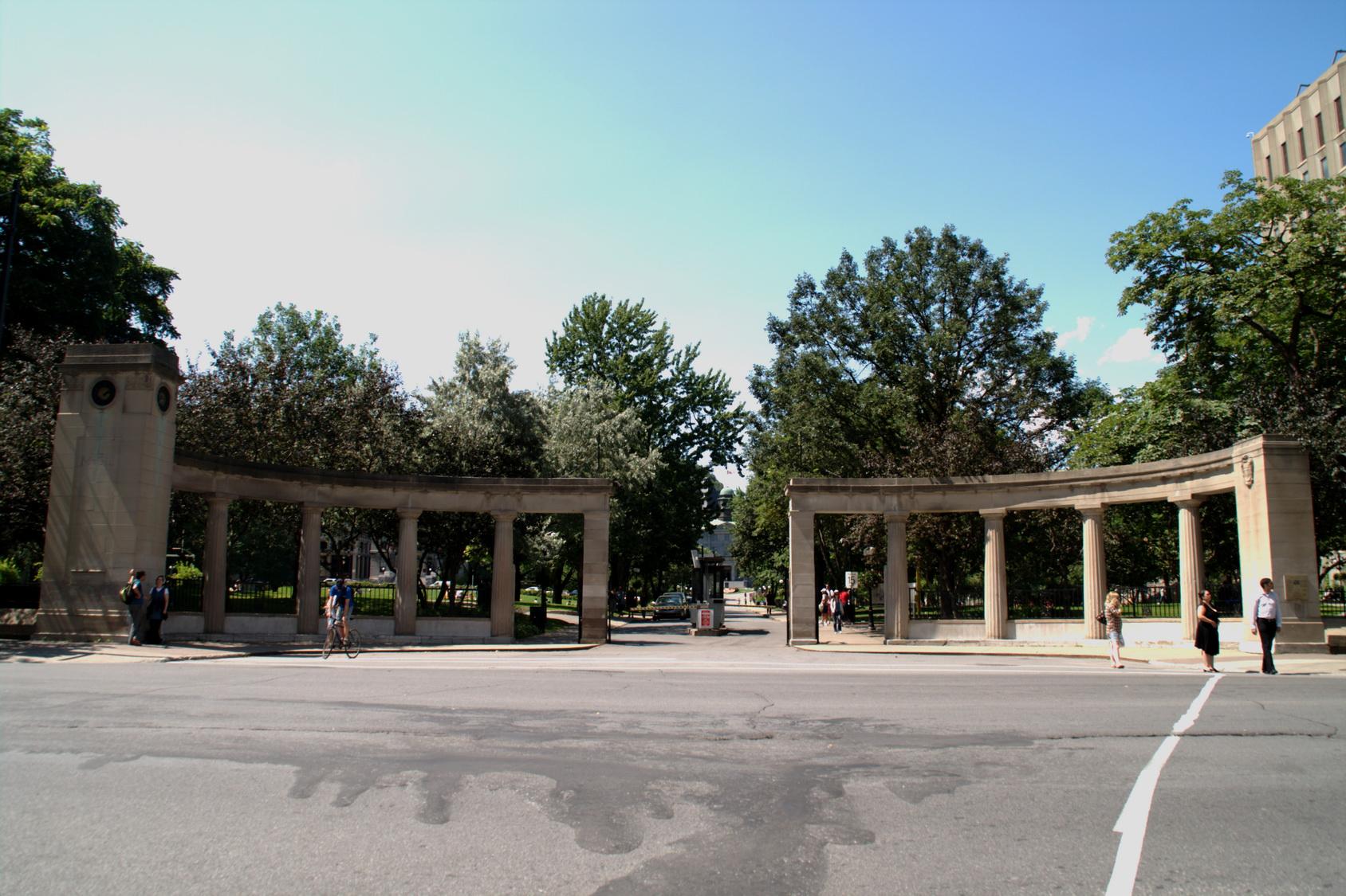 L universit mcgill est une des universit s les plus - Residence les jardins de l universite ...