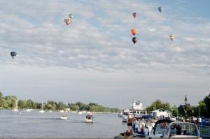 En 2008, l'International de montgolfières de Saint-Jean-sur-Richelieu a fêté ses 25 ans en plaisir et en couleurs