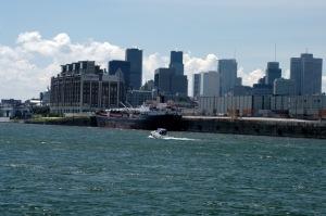 Côté ouest de l'activité portuaire