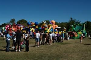 Le Village des arts est devenu, le temps d'une fête, le Village des enfants