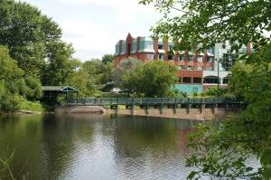 La rivière L'Assomption accompagne la vie quotidienne de la population joliettaine