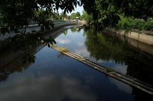 La rivière L'Assomption est le plus important cours d'eau de la région de Lanaudière et comporte un bassin versant de 4220 kilomètres carrés (Wikipedia)