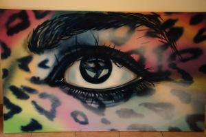 Une murale qui accroche l'oeil...