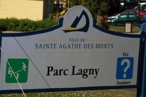 Pour quittons Saint-Sauveur pour Sainte-Agathe des Monts