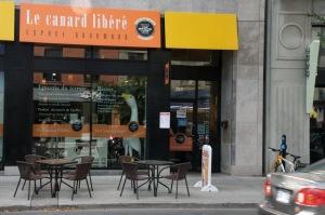 Le canard libéré, espace gourmand, une « boutique authentique » spécialisée dans les produits Canards du Lac Brome