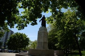 L'action de Louis-Hippolyte La Fontaine est soulignée dans le parc qui porte son nom