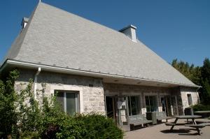 Maison d'accueil du parc-nature de l'Île-de-la-Visitation