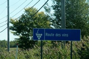 Notre choix a porté sur la Route des vins des Cantons de l'Est
