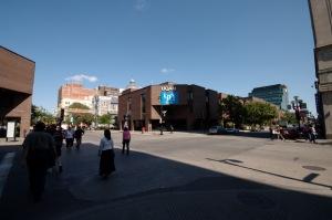 L'Université du Québec à Montréal est située au coeur de la ville