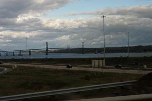 La vue du pont de l'Ile est... tout simplement magnifique