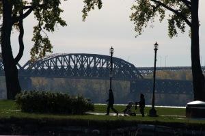 Un pont, lieu d'inspiration pour un dolce farniente...