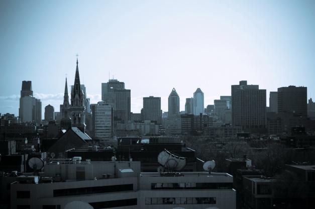 Montréal la ville de mes vieux jours