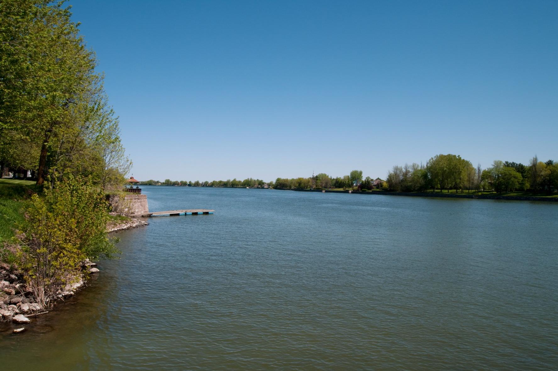 La rivière masoliantekw qui signifie : rivière de beaucoup d'argent