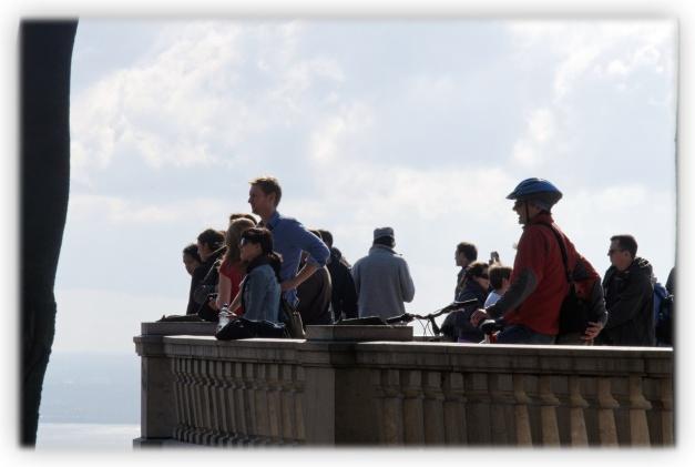 Par un beau jour et dernier jour d'automne, le soleil rend cette promenade sur le Mont-Royal comme une grande marche vers la sérénité et la liberté