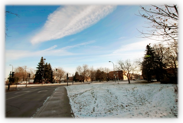 Vendredi. Jour de promenade par grand vent et sous une température de moins dix degrés centigrade