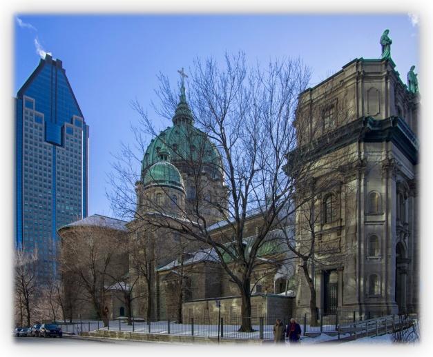 Plein soleil sur Montréal