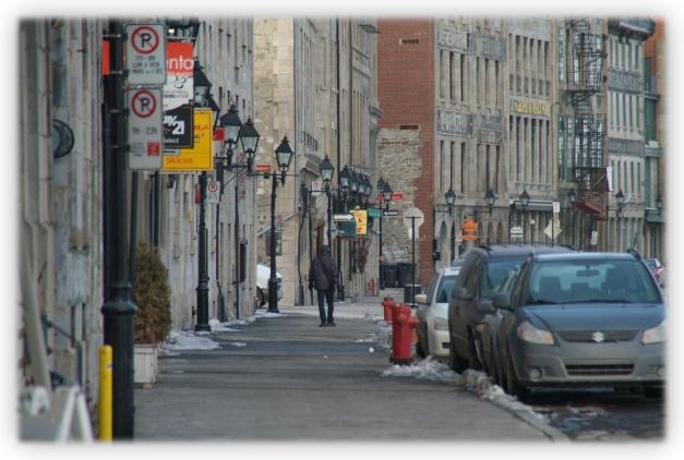 Le froid intense de Montréal