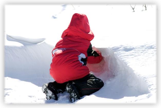 Le froid intense de l'hiver