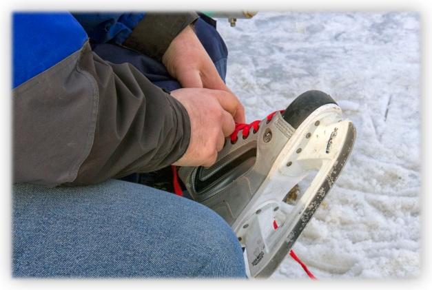 Les douze coups de patin de l'hiver