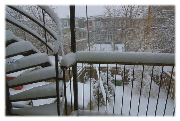 De mon balcon