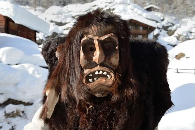 Les masques du Lötschental