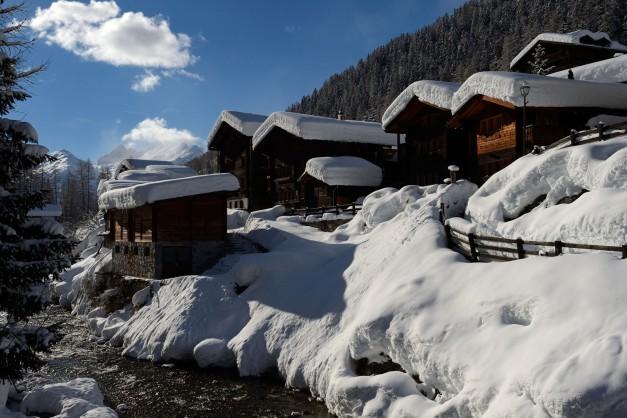 Site inscrit au Patrimoine Mondial de l'UNESCO, le Lötschental