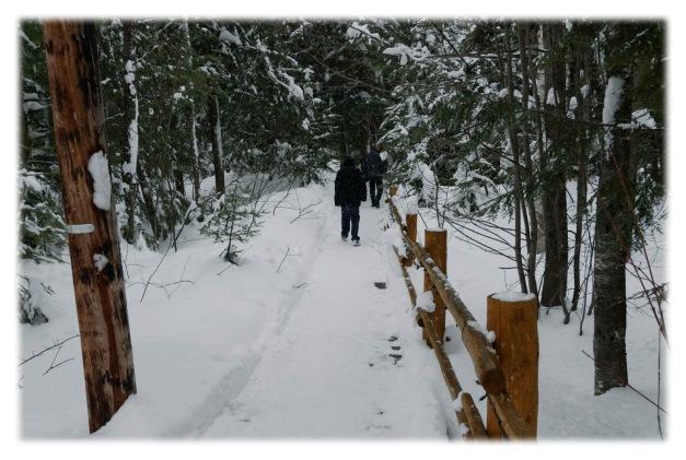Il a neigé au Lac Sacacomie